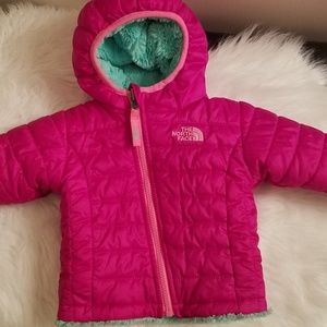 The North face coat infant 3-6 months